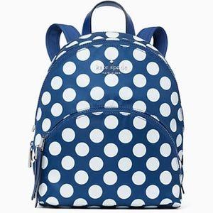 Kate Spade karissa nylon seaside dot backpack